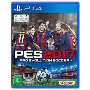Jogo Pro Evolution Soccer 2017 (PES 17) - PS4