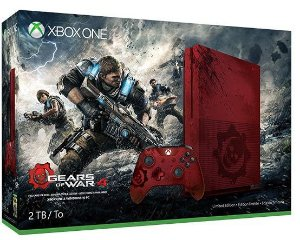 Console Xbox One S 2TB (Gears of War 4 Edição Limitada) + Jogo Gears of War 4: Ultimate Edition - Microsoft