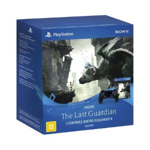 Pacote Controle Sony Dualshock 4 + Jogo The Last Guardian - PS4