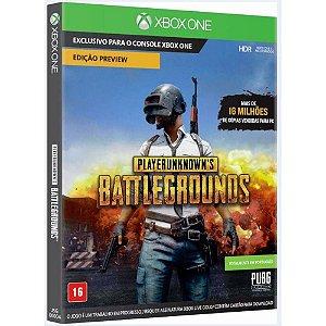 Jogo Playerunknown's Battlegrounds (PUBG) - Xbox One