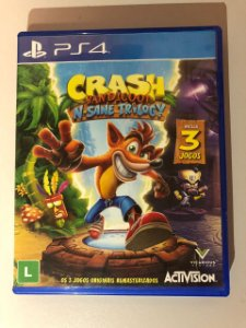 Jogo Crash - Ps4