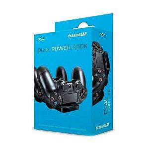 Carregador DreamGEAR para 2 Controles Dual Power Dock - PS4