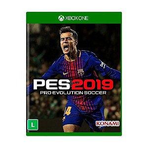 Jogo Pro Evolution Soccer 2019 (PES 2019) - Xbox One
