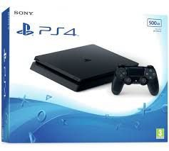Console Ps4 slim 500GB