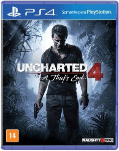 Jogo Uncharted 4: A Thief's End - PS4 ( Usado )