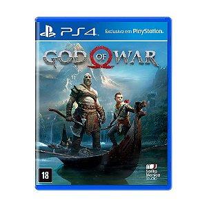 Jogo God of War - PS4 ( Usado )
