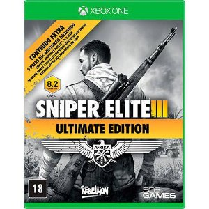 Jogo Sniper Elite III - Xbox One ( usado )