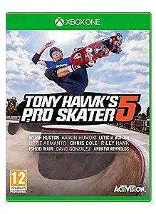 Jogo Toni Hawk's Pro Skater 5 - Xbox One ( Usado )