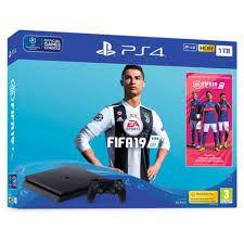 Console PlayStation 4 Slim 500GB + FIFA 19 - Sony