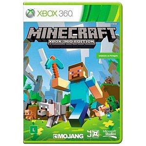Jogo Minecraft - Xbox 360 Usado