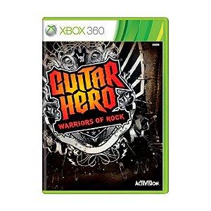 Jogo Guitar Hero Warriors Of Rock - Xbox 360
