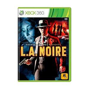 Jogo L.A. Noire - Xbox 360 (Usado)