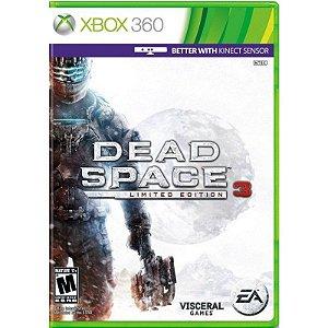 Jogo Dead Space 3 Limited edition - Xbox 360 Usado