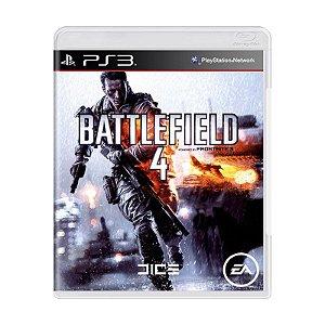 Jogo Battlefield 4 - Ps3 Usado