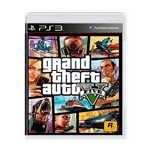 Jogo Gran Theft Auto V - Ps3 Usado