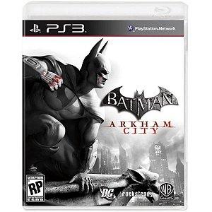 Jogo Batman: Arkham City - PS3 Usado