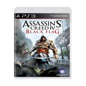 Jogo Assassins Creed IV Black Flag - Ps3 Usado