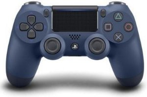 Controle Sony Dualshock 4 Midnight Blue sem fio - Ps4