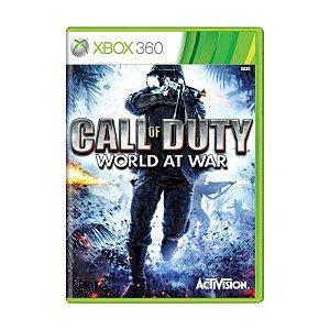 Jogo Call Of Duty World at War Xbox 360 - Usado
