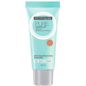 Maybelline Pure Makeup Dourado - Base Líquida 30ml