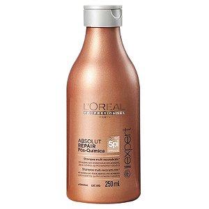 Shampoo Pós-Química Multi-reconstrutor  L'Oréal Professionnel Absolut Repair - 250ml