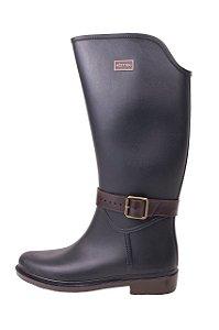 Galocha Késttou Black Pluma Removível - Jaque Kuver Sapatos e Estilo b16b7ba1fb