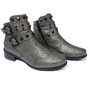 Bota Com Pele Cano Curto - Jaque Kuver Sapatos e Estilo ff366101d1