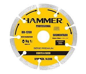DISCO DIAM SEGMENTADO HAMMER