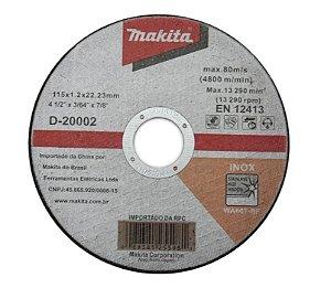 DISCO CORTE INOX 4.1/2X1,2x7/8 MAKITA