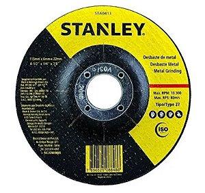DISCO DESBASTE 4.1/2X7/8X6,0 STANLEY
