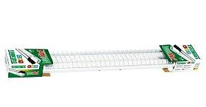 LUMINARIA TUBULAR LED 2X08W 127V 6500K