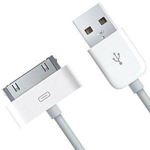 Cabo Usb Iphone Dados e energia Ipad Ipod 3g 3gs 4g 4s