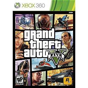 GTA Gran Theft Auto V - Xbox 360