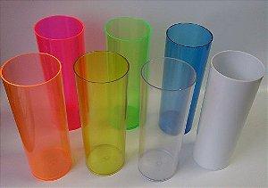 Copo Long Drink em Acrílico para Pesonalização 320ml (Transfer Laser ou Adesivo)