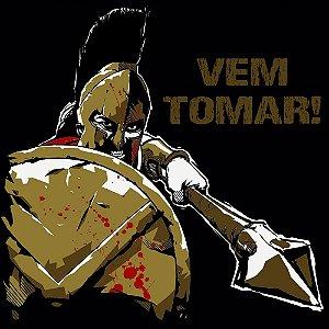 Camiseta Leônidas, o leão de Esparta - Molon labe!