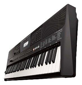 Teclado musical Yamaha PSR Series PSR-E463 61 teclas Preto