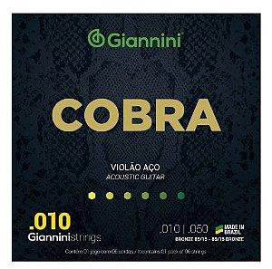 Encordoamento  Violao Giannini 010