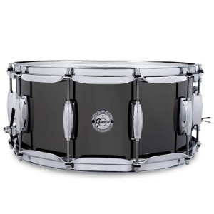 Caixa de Bateria Gretsch black nickel 14x6,5
