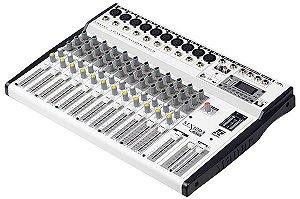 Mesa De Som 12 Canais Com USB/FM E Bluetooth MX-1203 USB - Staner