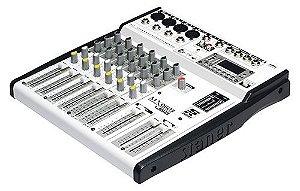 Mesa De Som 6 Canais Com USB/FM E BT. MX-0603 USB - Staner