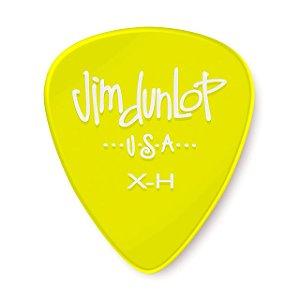 Palheta Dunlop - Gels amarelo pick extra pesado
