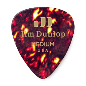 Palheta Dunlop Medium - Celuloide