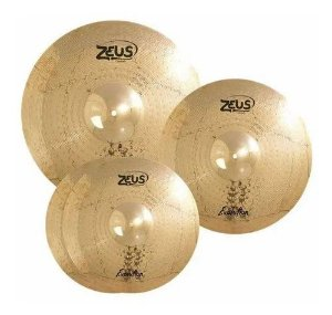 Zeus Evolution - SET C - Hi-Hat 14 / Crash 16 / Ride 20