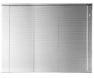 Persiana Horizontal 25 mm 2,20 m largura e altura de 0,80 cm até 1,60 m Acionamento Direito
