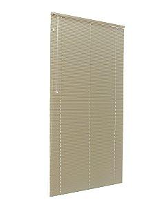 Persiana Horizontal 25 mm Largura 1,80 x 1,50 Altura Alabaster