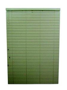Persiana Horizontal PVC 50 mm Largura 1,20 x 1,20 Altura Bege
