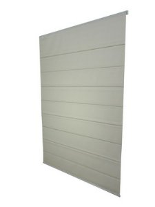 CORTINA ROMANA SCREEN 5% LARGURA 1,60 X 1,40 ALTURA WHITE