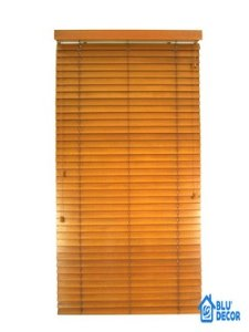 Persiana Horizontal Madeira 50 mm Bamboo Largura 1,80 x 2,30 Altura Preto