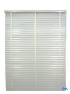 Persiana Horizontal PVC 50 mm com fita Largura 2,00 x 2,30 Altura Branco