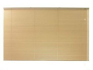 PERSIANA HORIZONTAL 25 MM BLACKOUT LARGURA 1,15 X 2,30 ALTURA DOURADO